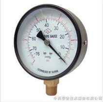 4径向碳钢壳真空压力表