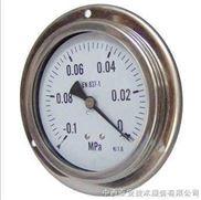 ZN94-P-V40DS-010G-4轴向加边全不锈钢真空压力表