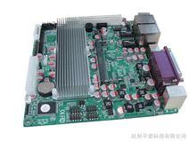 适用于监控工控机等Mini ITX双网口多接口无风扇嵌入式工控机主板