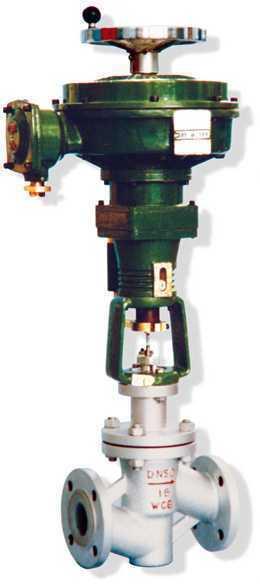 上海自动化仪表七厂 上仪七厂   ZAZPF-10/16W型电动单座衬塑调节阀