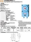 防爆漏电断路器(II C)