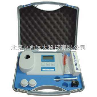 臭氧浓度检测仪/臭氧分析仪(水中臭氧检测仪0.05 to 0.5mg/l) 型号:H5ET7700库