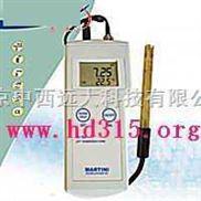 M322184-米克水质/便携式pH测定仪/便携式酸度计/温度计/PH/temp计