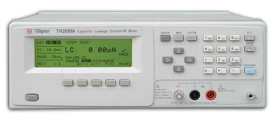 th2689a 漏电流测试仪