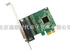 工业型2U小机箱通用4串口RS-232 PCI Express串口卡