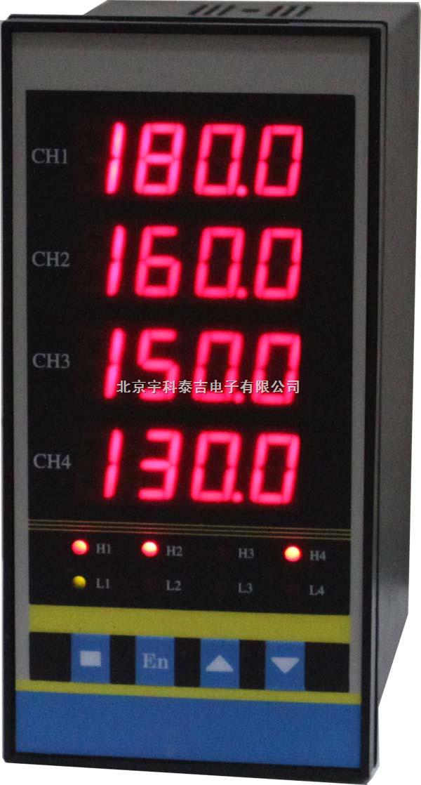 智能四通道电压显示调节仪