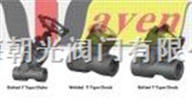 德国韦恩进口Y型焊接高压截止阀