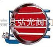温州优质圆形百叶碟阀,多叶蝶阀厂家