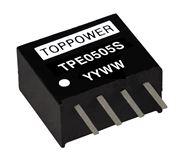 TPE0505S/0505D-AC-DC模块电源 TPE0505S/0505D DC-DC 1W