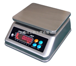 3kg不锈钢桌秤(TZH)15公斤不锈钢防水桌秤{30公斤防水不锈钢桌秤}