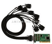 SUNXA CP-S8009UL 工业级PCI转8口RS232 支持半高小机箱