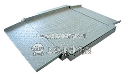 钢板厚8mm地上衡是多少钱,500kg地磅秤,带引坡地磅秤厂家
