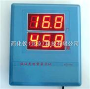 大屏幕温湿度显示仪(空气温湿度计) 型号:GZAS21-106
