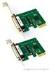 工业型PCIE两串口卡(支持小挡板2U服务器及小机箱)