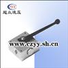 MPKH系列板式安装高压多路球阀