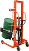 YCS化工车间倒料使用的油桶搬运秤 称圆桶使用的手动倒桶秤